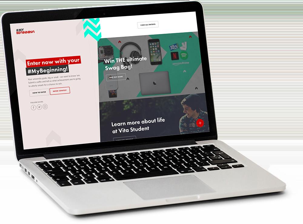 Vita Student Desktop Homepage