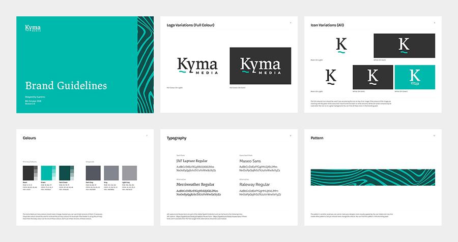 Kyma branding