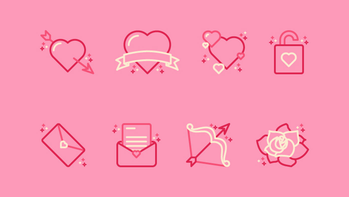 Valentines Icon Pack cover photo