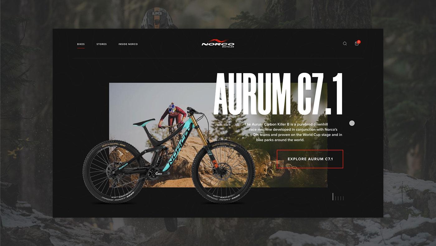 Norco Website Concept cover photo