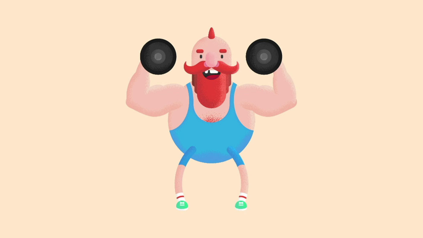 Strongman Character Animation cover photo