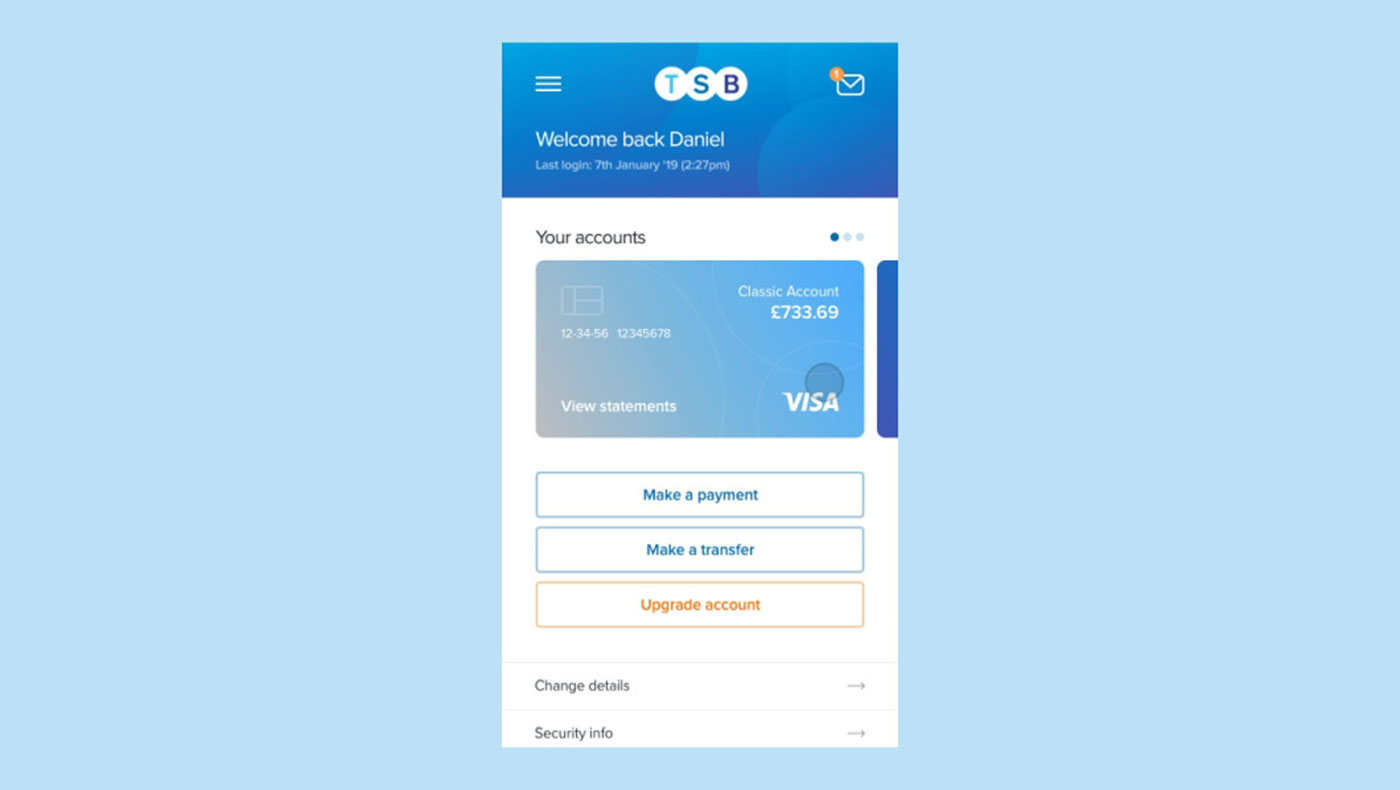 TSB Mobile Website – Animated Concept cover photo