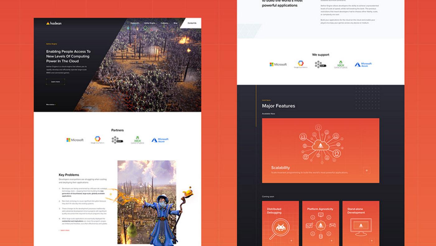 Hadean Web Design cover photo