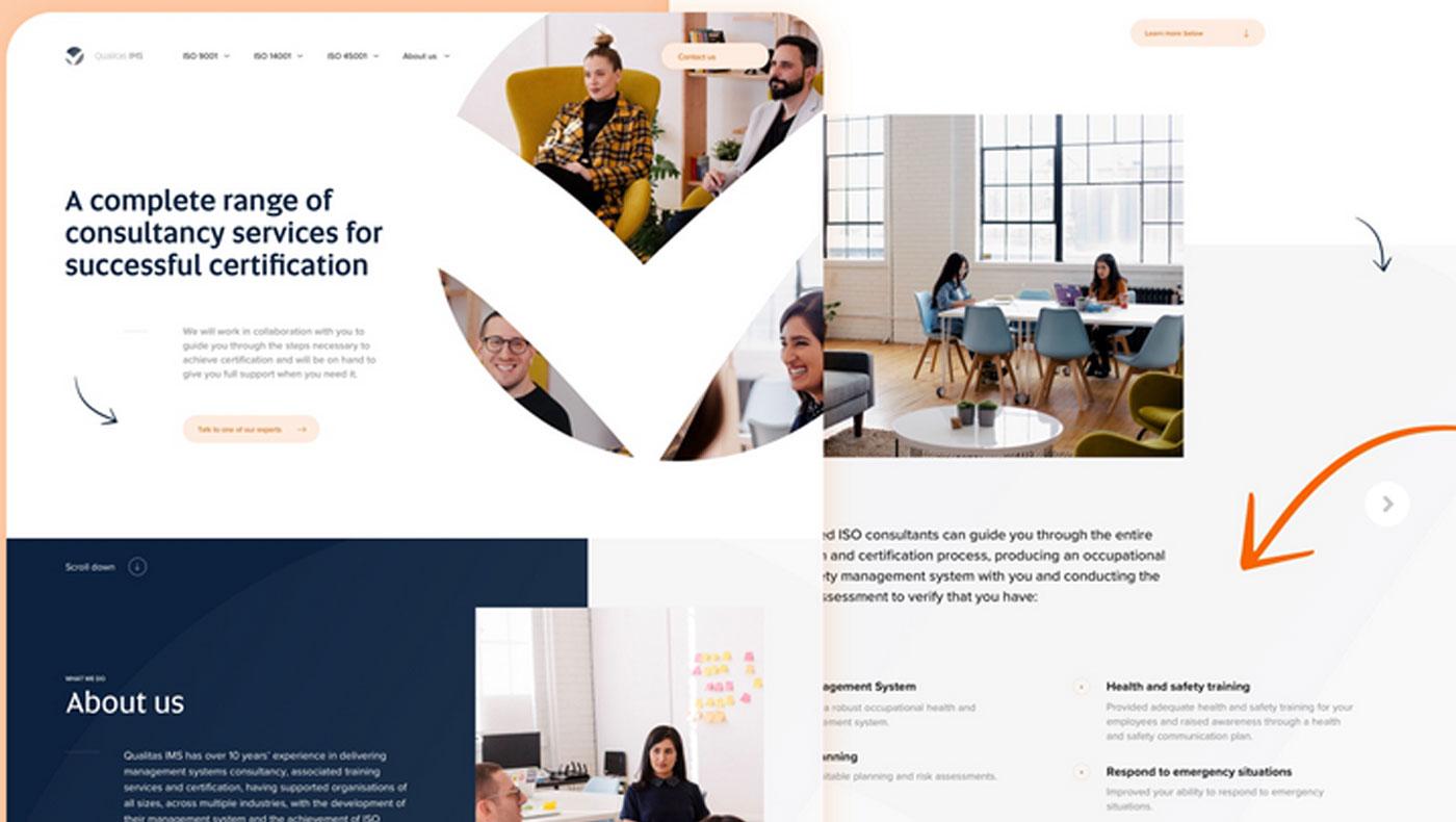 Qualitas Web/Mobile Design cover photo
