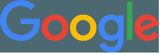 The company Google's logo